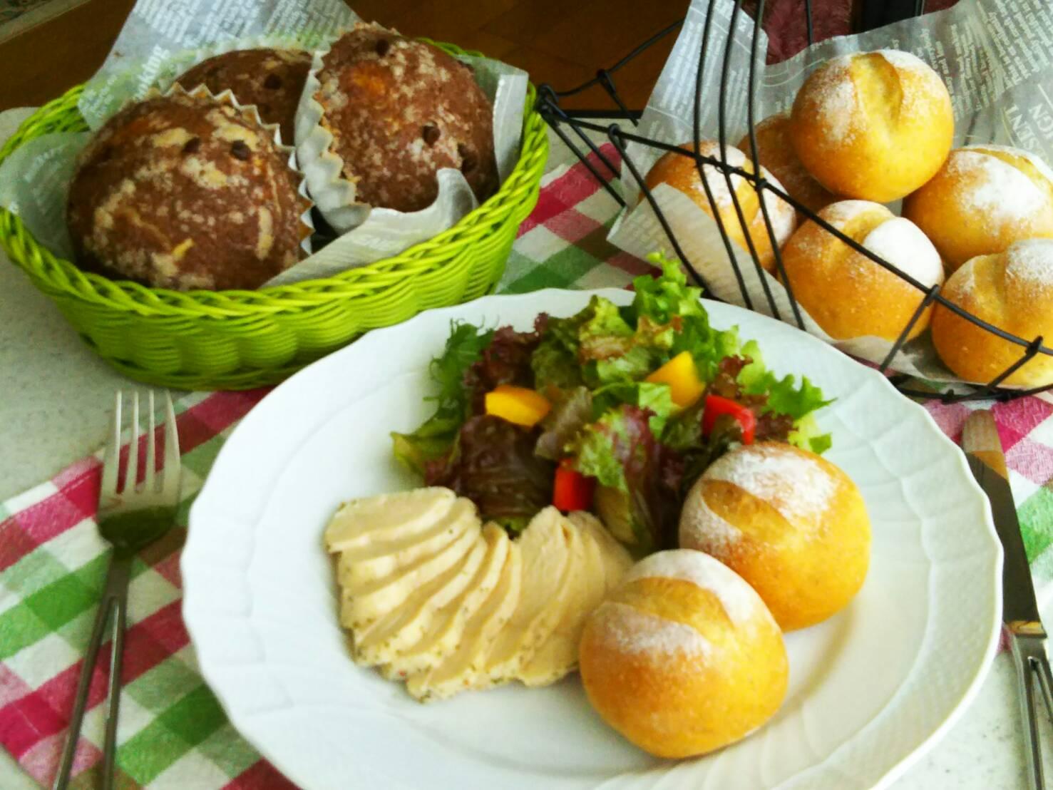 ● パン2回コース ~おいしいパン作り~