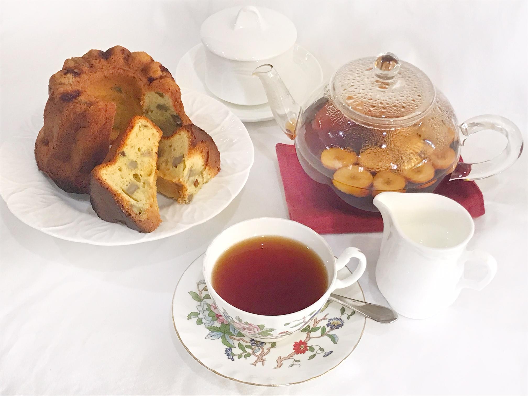 プロに習う ★ 紅茶の淹れ方と 秋のケーキ作り ★