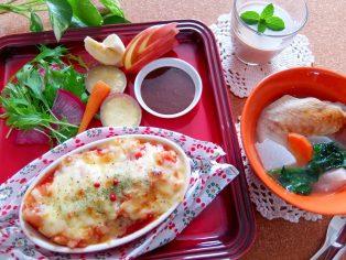 ♢冬のあったかメニュー♢ 【開催中止】         ☆[過去の料理教室はこちら]で料理内容をご紹介☆